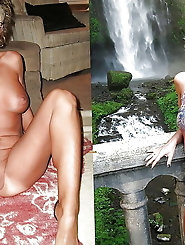 Libidinous mature mademoiselle is masturbating herself